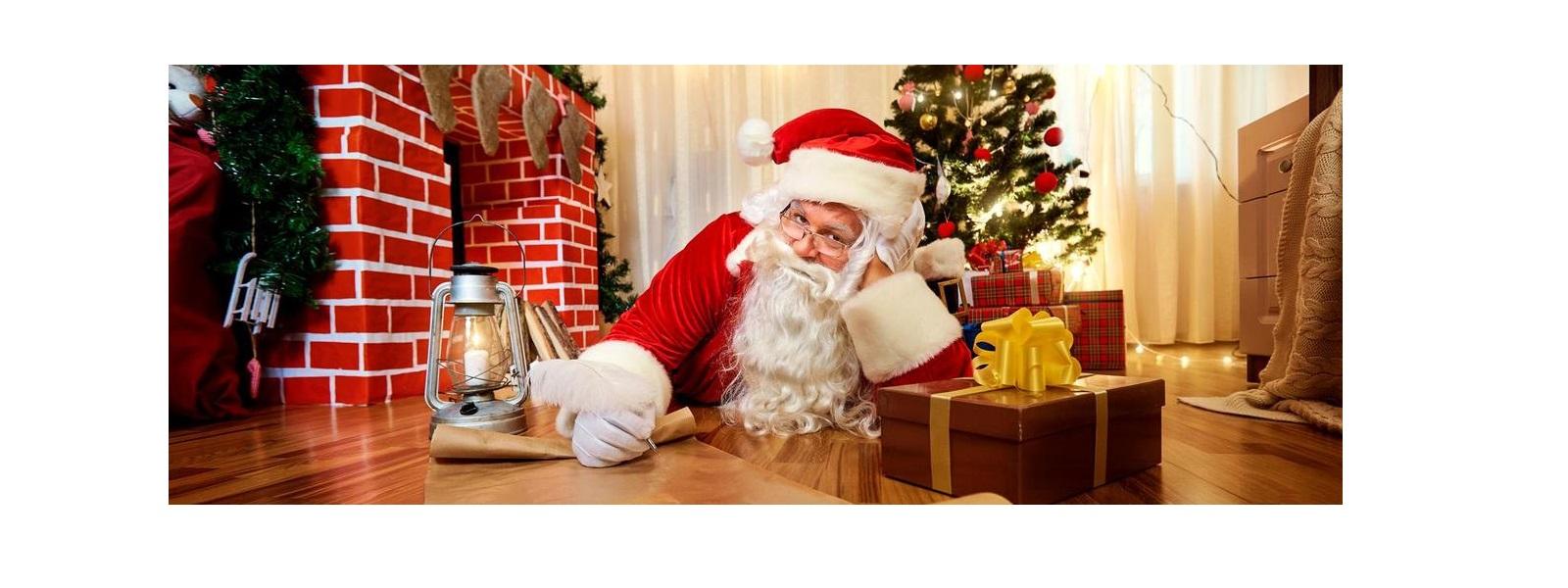 Gönnen Sie dem Weihnachtsmann eine Pause